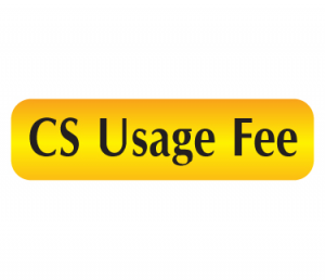 CS Usage Fee
